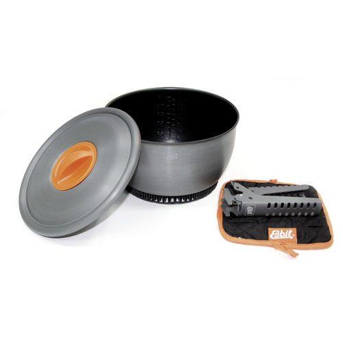 Esbit Pot with Heat Exchanger
