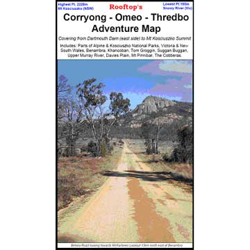 Corryong Omeo Thredbo - Adventure Map