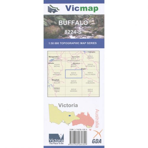 Vicmap buffalo 8224s map