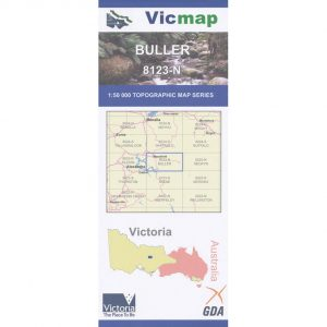 Vicmap bulla map