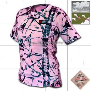 Women's pink fleece 'T'