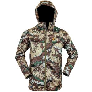 Hunters Element Sabre Soft Sheel Jacket Desolve Bare Camo (Winter Jacket)