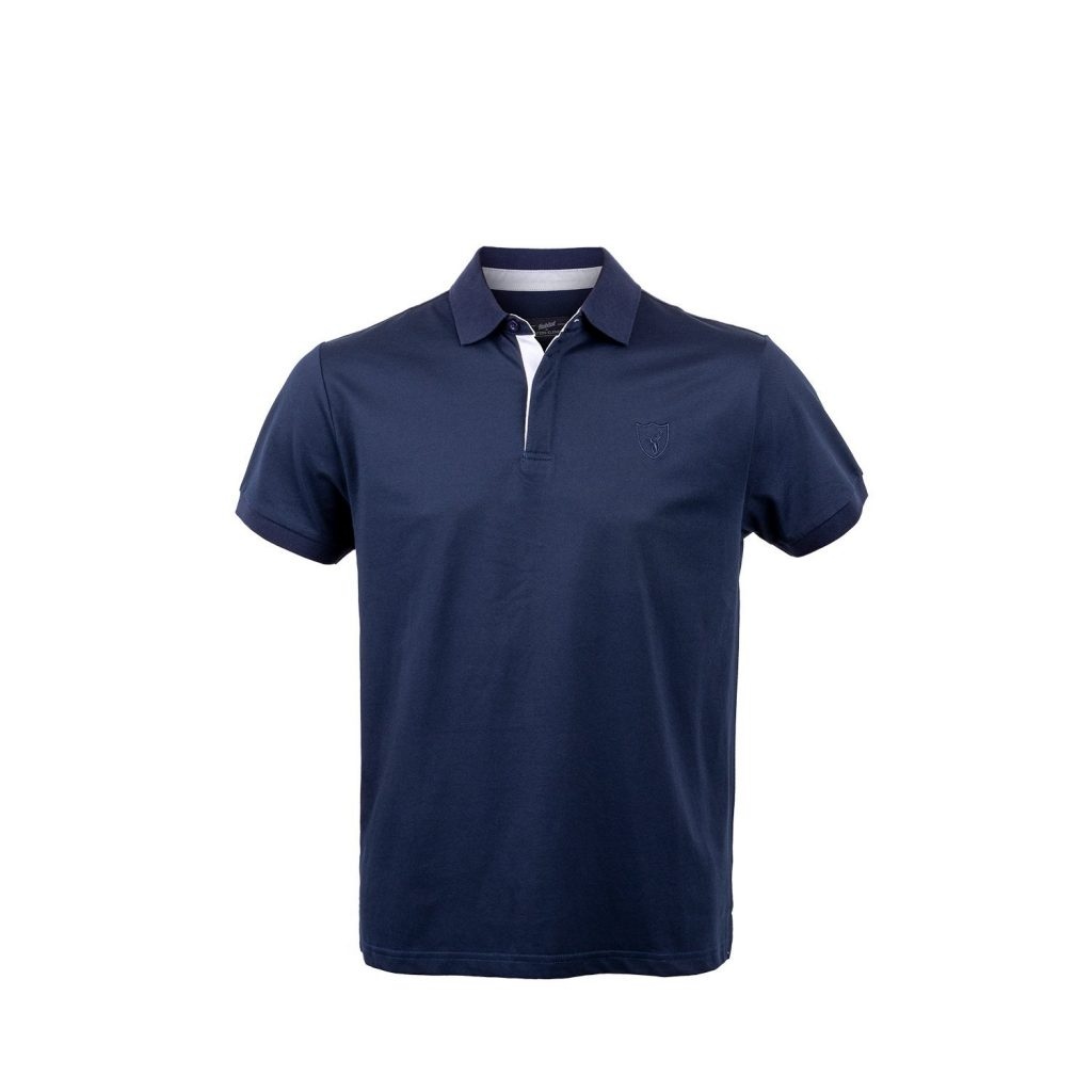 Hunters Element Stag Polo Navy