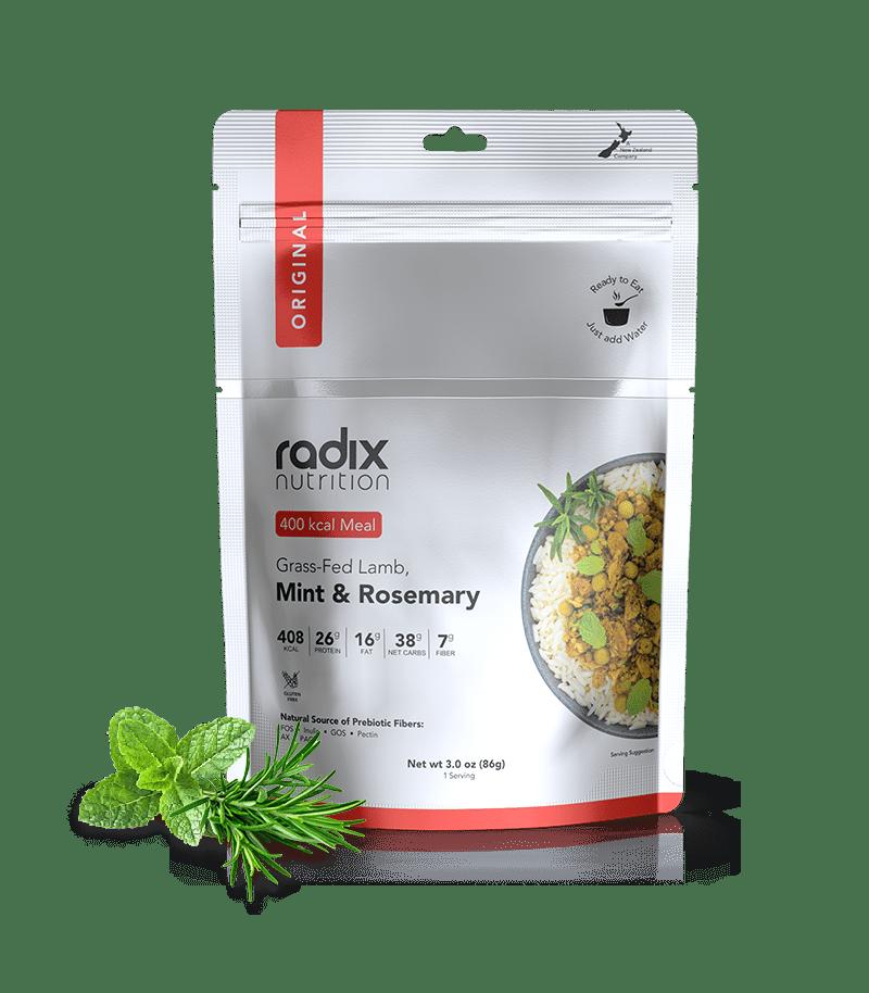 Radix Performance 400 Grass Fed Lamb Mint Rosemary