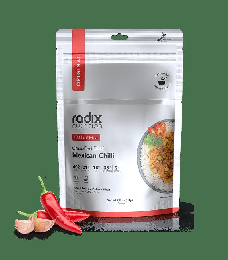 Radix Performance 400 Mexican Chilli W/Grass Fed Beef