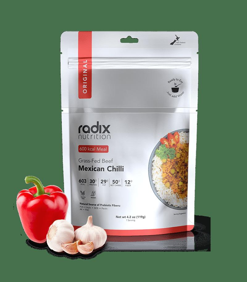 Radix Performance 600 Mexican Chili W/Grass Fed Beef